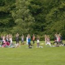 Yoga-in-Arnhem-Zypendaal-park
